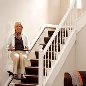 fauteuil monte escalier - escalier tournant