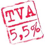 TVA réduite à 5.5%
